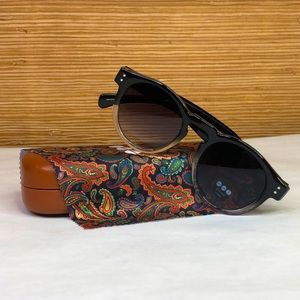 KOMONO Clement Paisley Sunglasses (NEW) 🕶